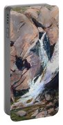 Rocky Mountain Cascade Portable Battery Charger by Mary Benke