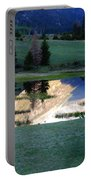 Rocky Mountain Reflection Portable Battery Charger