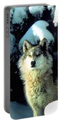 Rocky Mountain Wolf Portable Battery Charger