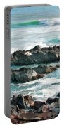 Rocky Ocean Shoreline One Portable Battery Charger