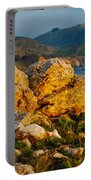 Rocky Point And Bixby Bridge Big Sur California Portable Battery Charger