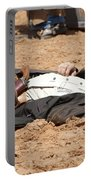 Rodeo Gunslinger Victim Color Portable Battery Charger