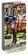 Rodeo Horse Three Portable Battery Charger