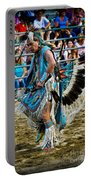 Rodeo Indian Dance Portable Battery Charger