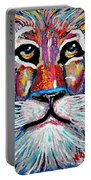 Rodney Abstract Lion Portable Battery Charger