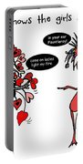 Rodneys Valentine Portable Battery Charger