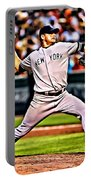 Roger Clemens Painting Portable Battery Charger