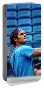 Roger Federer  Portable Battery Charger