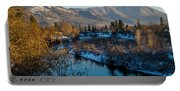 Rogue River Winter Portable Battery Charger