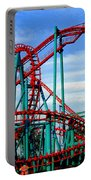 Roller Coaster Painting Portable Battery Charger