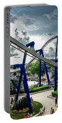 Rollercoaster Amusement Park Ride Portable Battery Charger