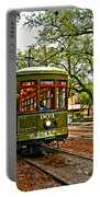 Rollin' Thru New Orleans Painted Portable Battery Charger