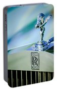 Rolls-royce Hood Ornament -782c Portable Battery Charger