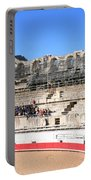 Roman Amphitheater In Arles Portable Battery Charger