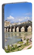 Roman Bridge In Cordoba Portable Battery Charger