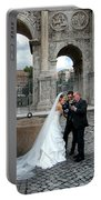 Roman Colosseum Bride And Groom Portable Battery Charger