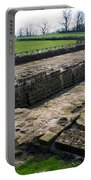 Roman Fort Ruins, England Portable Battery Charger