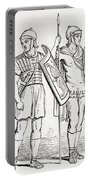 Roman Infantry Soldiers, After Figures On Trajans Column.  From The Imperial Bible Dictionary Portable Battery Charger
