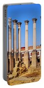 Roman Temple In Cordoba Portable Battery Charger