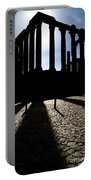 Roman Temple Silhouette Portable Battery Charger