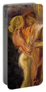 Romance Portable Battery Charger by Donna Tuten