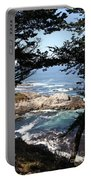 Romantic California Coast Portable Battery Charger