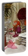 Romantic Dinner Setting Portable Battery Charger