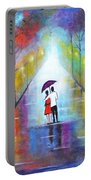 Romantic Interlude Portable Battery Charger