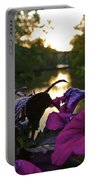 Romantic River View Portable Battery Charger