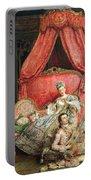 Romantic Scene Portable Battery Charger by Ignacio De Leon y Escosura