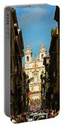 Rome, Italy. View Along Via Dei Portable Battery Charger