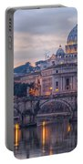 Rome Saint Peters Basilica 01 Portable Battery Charger