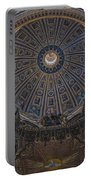 Rome Saint Peters Basilica Interior 01 Portable Battery Charger