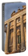 Rome Temple Of Antoninus And Faustina 01 Portable Battery Charger