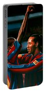 Ronaldinho And Eto'o Portable Battery Charger
