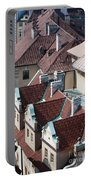Rooftops Of Prague In Czechia Europe Portable Battery Charger
