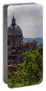 Rooftops Of Rome Portable Battery Charger