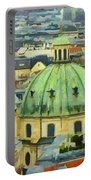 Rooftops Of Vienna Portable Battery Charger