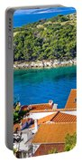 Rooftops Sea And Stone Islands Portable Battery Charger