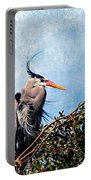 Rookery Great Blue Portable Battery Charger