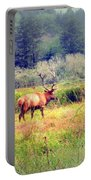 Roosevelt Bull Elk Portable Battery Charger