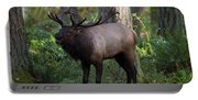 Roosevelt Elk Bugling Portable Battery Charger