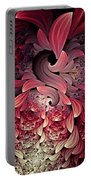 Rooster Abstract Portable Battery Charger