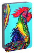 Rooster Crow Portable Battery Charger
