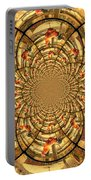Crowing Rooster Kaleidoscope Portable Battery Charger
