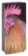 Rooster Watercolor Portable Battery Charger