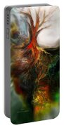Roots Portable Battery Charger by Carol Cavalaris