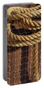 Rope And Net Portable Battery Charger