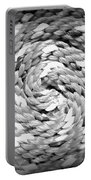 Rope Black And White Portable Battery Charger