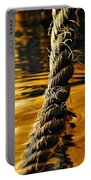 Rope On Liquid Gold Portable Battery Charger